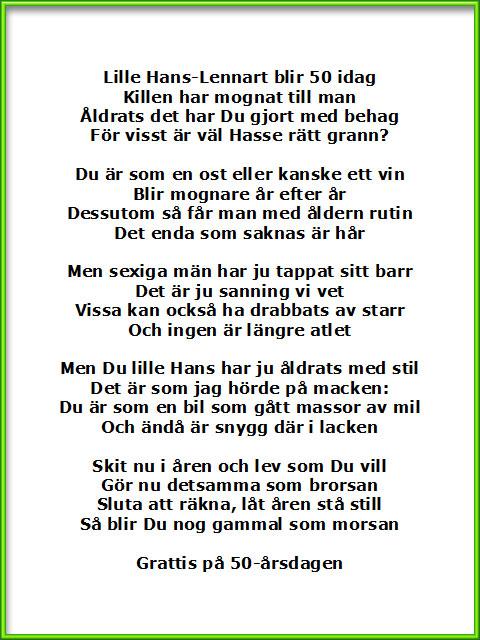 dikt om en bror